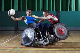 Andy Barrow Wheelchair Rugby
