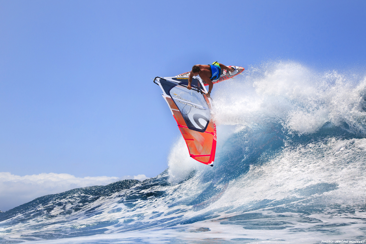 Robby Swift jumping waves